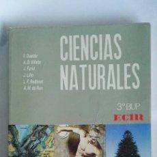 Libros de segunda mano: CIENCIAS NATURALES 3 BUP ECIR. Lote 188514767