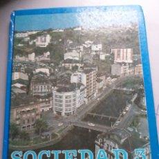 Libros de segunda mano: SOCIEDAD 3 EGB SANTILLANA. Lote 188589011
