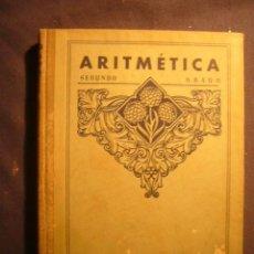 Libros de segunda mano: EDELVIVES: - ARITMETICA. SEGUNDO GRADO. LIBRO DEL MAESTRO - (ZARAGOZA, 1949). Lote 188774612