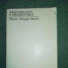 Libros de segunda mano: ARQUEOLOGÍA Y PREHISTORIA..1990. Lote 189207776