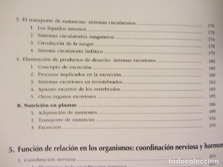 Libros de segunda mano: BIOLOGÍA - GEOLOGÍA. VV.AA. 1º BACHILLERATO. EDITA: EREIN 1997. 349 PÁGINAS. COMO NUEVO. - Foto 14 - 174898157