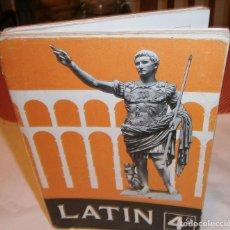 Livres d'occasion: LENGUA LATINA SEGUNDO CURSO 4º AÑO DE BACHILLERATO S.M AÑO 1970. Lote 189593822
