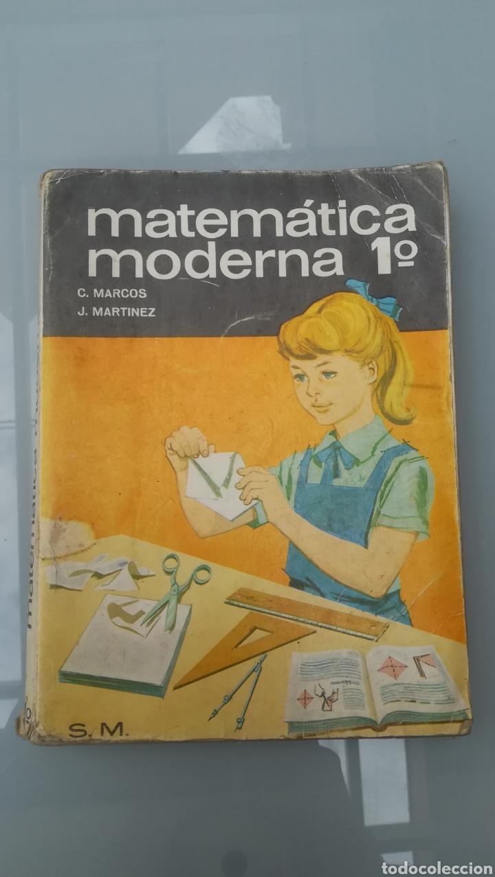MATEMÁTICA MODERNA DE PRIMERO. LIBRO DE 1969. (Libros de Segunda Mano - Libros de Texto )