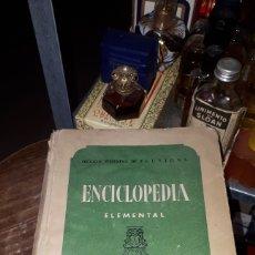Libros de segunda mano: ENCICLOPEDIA ELEMENTAL SECCIÓN FEMENINA MADRID 1946 FALANGE. Lote 191303210