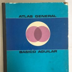 Libros de segunda mano: ATLAS GENERAL BÁSICO AGUILAR. Lote 191335721
