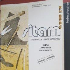 Libros de segunda mano: SISTEMA DE CORTE Y CONFECCION MODERNO-SITAM - MÉTODO PRÁCTICO CENTRO DE ESTUDIOS CCC - 3 TOMOS -. Lote 192391685