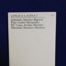 Libros de segunda mano: LENGUA LATINA I..1997 UNED. Lote 192681990