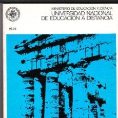 Libros de segunda mano: LATIN VULGAR UNIVERSIDAD NACIONAL A DISTANCIA SEBASTIAN MARINER BIGORRA 1977. Lote 192710340