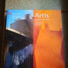 Libros de segunda mano: HISTORIA DEL ARTE ARTISTAS VICENS VIVES BACHILLERATO SEGUNDO CURSO ENVÍO CERTIFICADO INCLUIDO. Lote 192723585