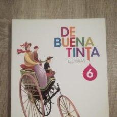 Libros de segunda mano: LECTURAS 6. DE BUENA TINTA. SANTILLANA.. Lote 192743811