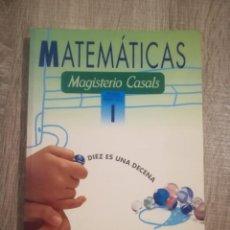 Libros de segunda mano: MATEMÁTICAS 1. PRIMARIA. PRIMER CICLO.. Lote 192744116