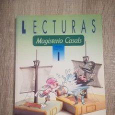 Libros de segunda mano: LECTURAS 1. PRIMARIA. PRIMER CICLO. MAGISTERIO CASALS.. Lote 192744556