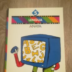 Libros de segunda mano: LENGUA 5. ANAYA.. Lote 192745206