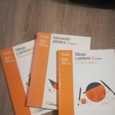 Libros de segunda mano: EDUCACIÓN PLÁSTICA 6 Y DIBUJO Y PINTURA 5 Y 6.. Lote 192745642