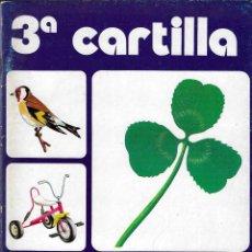 Livres d'occasion: 3ª CARTILLA PALÁU - PALAU Y OSORO - EDITORIAL ANAYA - MADRID, 1982.. Lote 193220932