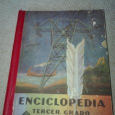 Libros de segunda mano: ENCICLOPEDIA. TERCER GRADO. 1952. 1 EDICIÓN. LUIS VIVES.. Lote 193575366