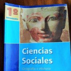 Libros de segunda mano: CIENCIAS SOCIALES. GEOGRAFÍA E HISTORIA. 1º SECUNDARIA (ESO). OXFORD EDUCACIÓN. 2.010. Lote 194129846