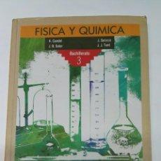 Libros de segunda mano: FÍSICA Y QUÍMICA 3 BACHILLERATO ANAYA BUEN ESTADO. Lote 194168758