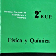 Libros de segunda mano: I.N.B.A.D. - FÍSICA Y QUÍMICA - 2º B.U.P. - TOMO 1 . Lote 194215591