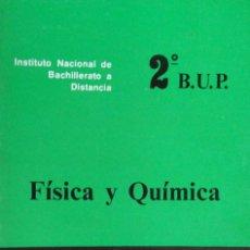 Libros de segunda mano: I.N.B.A.D. - FÍSICA Y QUÍMICA - 2º B.U.P. - TOMO 3 . Lote 194216180