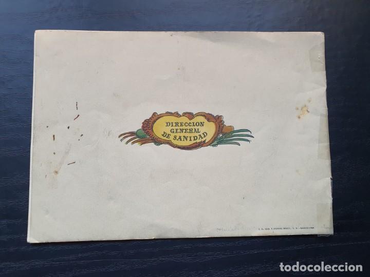 Libros de segunda mano: ALBUM PARA ILUMINAR. CONSEJOS DE HIGIENE DENTAL DE LA DIRECCIÓN GENERAL DE SANIDAD. - Foto 2 - 194216246
