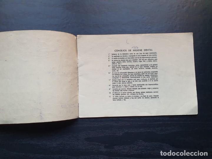 Libros de segunda mano: ALBUM PARA ILUMINAR. CONSEJOS DE HIGIENE DENTAL DE LA DIRECCIÓN GENERAL DE SANIDAD. - Foto 3 - 194216246