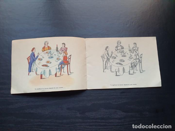 Libros de segunda mano: ALBUM PARA ILUMINAR. CONSEJOS DE HIGIENE DENTAL DE LA DIRECCIÓN GENERAL DE SANIDAD. - Foto 5 - 194216246