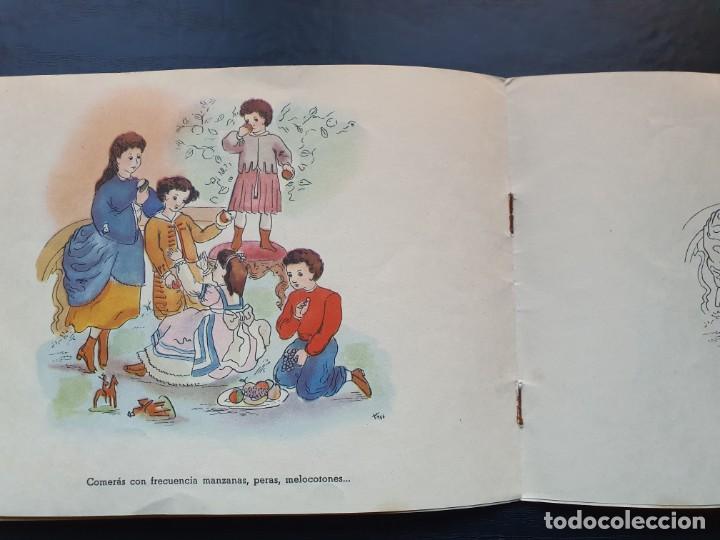 Libros de segunda mano: ALBUM PARA ILUMINAR. CONSEJOS DE HIGIENE DENTAL DE LA DIRECCIÓN GENERAL DE SANIDAD. - Foto 7 - 194216246