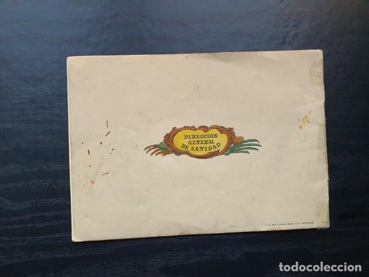 Libros de segunda mano: ALBUM PARA ILUMINAR. CONSEJOS DE HIGIENE DENTAL DE LA DIRECCIÓN GENERAL DE SANIDAD. - Foto 11 - 194216246