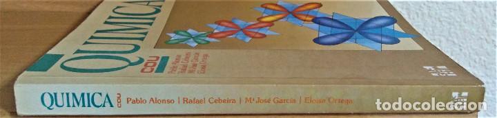 Libros de segunda mano: QUIMICA - C.O.U. - Pablo Alonso / Rafael Cebeira / Mª José Garcia / Eloisa Ortega - MCGRAW-HILL - Foto 3 - 194225108