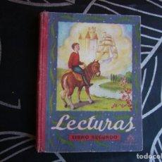 Libros de segunda mano: LECTURAS LIBRO SEGUNDO EDITORIAL LUIS VIVES. Lote 194272675