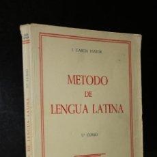 Libros de segunda mano: MÉTODO DE LENGUA LATINA. QUINTO CURSO.. Lote 194280010