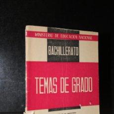 Libros de segunda mano: TEMAS DE EXÁMENES DE GRADO SUPERIOR DE BACHILLERATO. LATÍN (CON ORIENTACIONES METODOLÓGICAS).. Lote 194280815