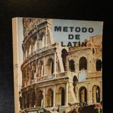 Libros de segunda mano: MÉTODO DE LATÍN. CURSOS TERCERO Y CUARTO.. Lote 194281736