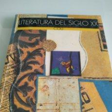 Libros de segunda mano: LITERATURA DEL SIGLO XX COU VICENTE TUSON FERNANDO LÁZARO. Lote 194283923