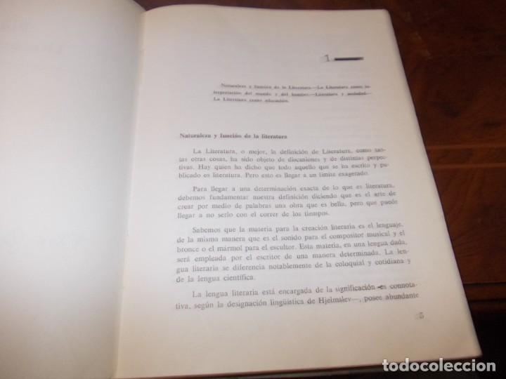 Libros de segunda mano: Didáctica de la literatura española. Luisa Yravedra. 2ª curso (Plan 1967) Edit. Ochoa - Foto 3 - 194318670