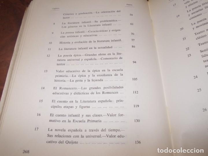 Libros de segunda mano: Didáctica de la literatura española. Luisa Yravedra. 2ª curso (Plan 1967) Edit. Ochoa - Foto 6 - 194318670