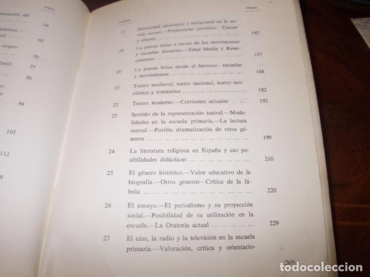 Libros de segunda mano: Didáctica de la literatura española. Luisa Yravedra. 2ª curso (Plan 1967) Edit. Ochoa - Foto 7 - 194318670
