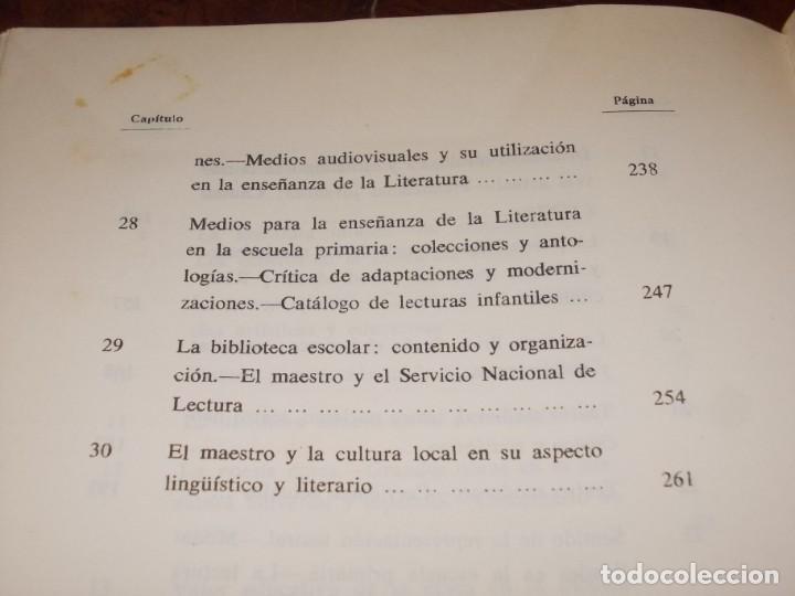 Libros de segunda mano: Didáctica de la literatura española. Luisa Yravedra. 2ª curso (Plan 1967) Edit. Ochoa - Foto 8 - 194318670