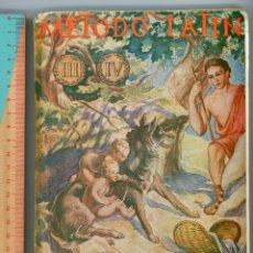 Libros de segunda mano: MÉTODO DE LATÍN PARA 3º Y 4º DE BACHILLERATO. EMILIO FORNÉS, SL. . Lote 194322746