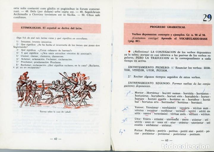 Libros de segunda mano: Método de Latín para 3º y 4º de Bachillerato. Emilio Fornés, SL. - Foto 4 - 194322746