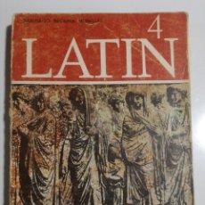 Libros de segunda mano: LATIN 4 SANTIAGO SEGURA MUNGUIA. Lote 194385161