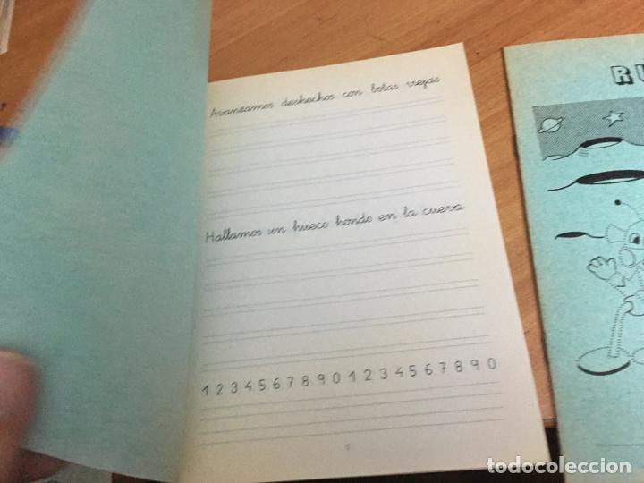 Libros de segunda mano: PROBLEMAS RUBIO LOTE 2 CUADERNOS ESCRITURA . PORTADA QUIJOTE 1 (COIB59) - Foto 2 - 194515696