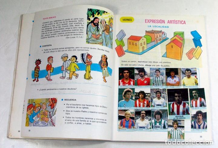 Libros de segunda mano: VACACIONES DE VERANO EDELVIVES. EGB CICLO MEDIO 4. 1984. FUTBOL - Foto 2 - 194526311