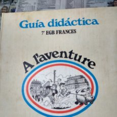 Libros de segunda mano: GUIA DIDACTICA -7 EGB -FRANCES.MANGOLD SANTILLANA 1978. Lote 194587625