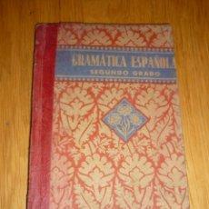 Libros de segunda mano: GRAMATICA ESPAÑOLA, SEGUNDO GRADO - EDELVIVES 1939. Lote 194595530