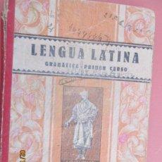 Libros de segunda mano: LENGUA LATINA , GRAMATICA PRIMER CURSO - LUIS VIVES 1941. Lote 194626446