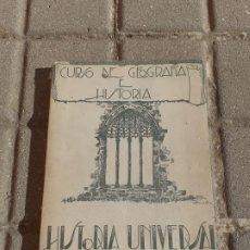 Libros de segunda mano: HISTORIA UNIVERSAL TERCER CURSO GEOGRAFÍA E HISTORIA // JUSTINIANO GARCÍA PRADO. Lote 194641070