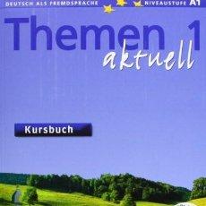 Libros de segunda mano: THEMEN1. AKTUEL. KURSBUCH UND LIBRO DE EJERCICIOS. VV.AA.. Lote 194654997