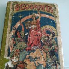 Libros de segunda mano: GEOGRAFÍA PARA NIÑOS SEGUNDO GRADO ESTEBAN PALUZIE. Lote 194657400